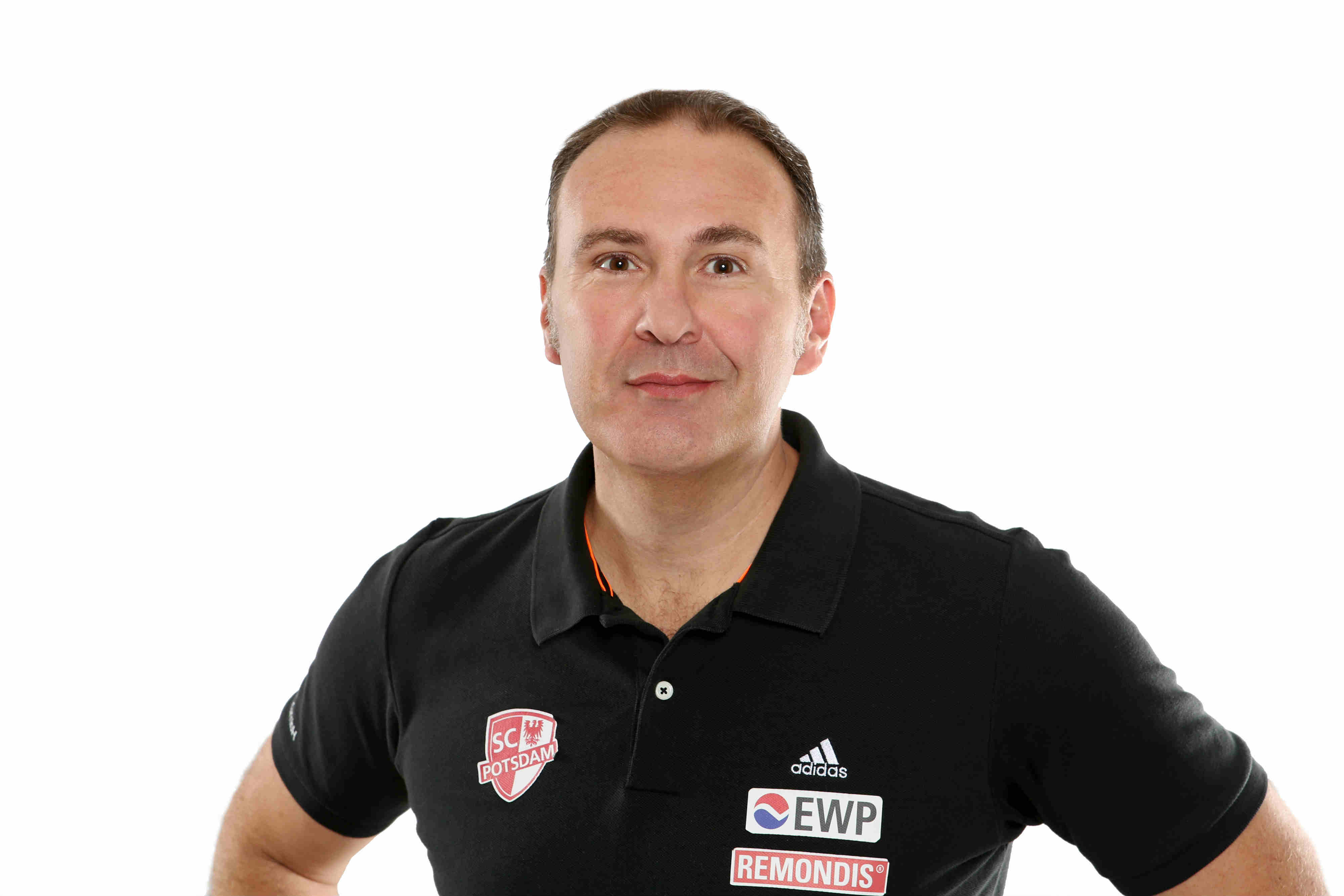 Alberto Salomoni Head Coach Volleyball SC Potsdam